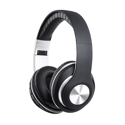 URBN Thump 400 On-Ear Wireless Bluetooth Headphone with Microphone,