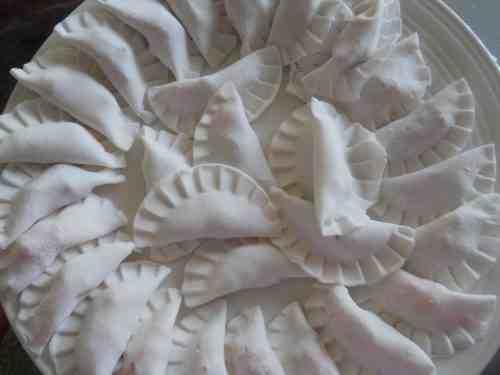 Bánh bột lọc trần sau khi làm xong