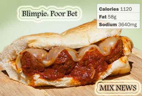 Diet,debris,wors,double grip,sandwiches, Blimpie:Poor Bet, Diet debris and worst double grip sandwiches