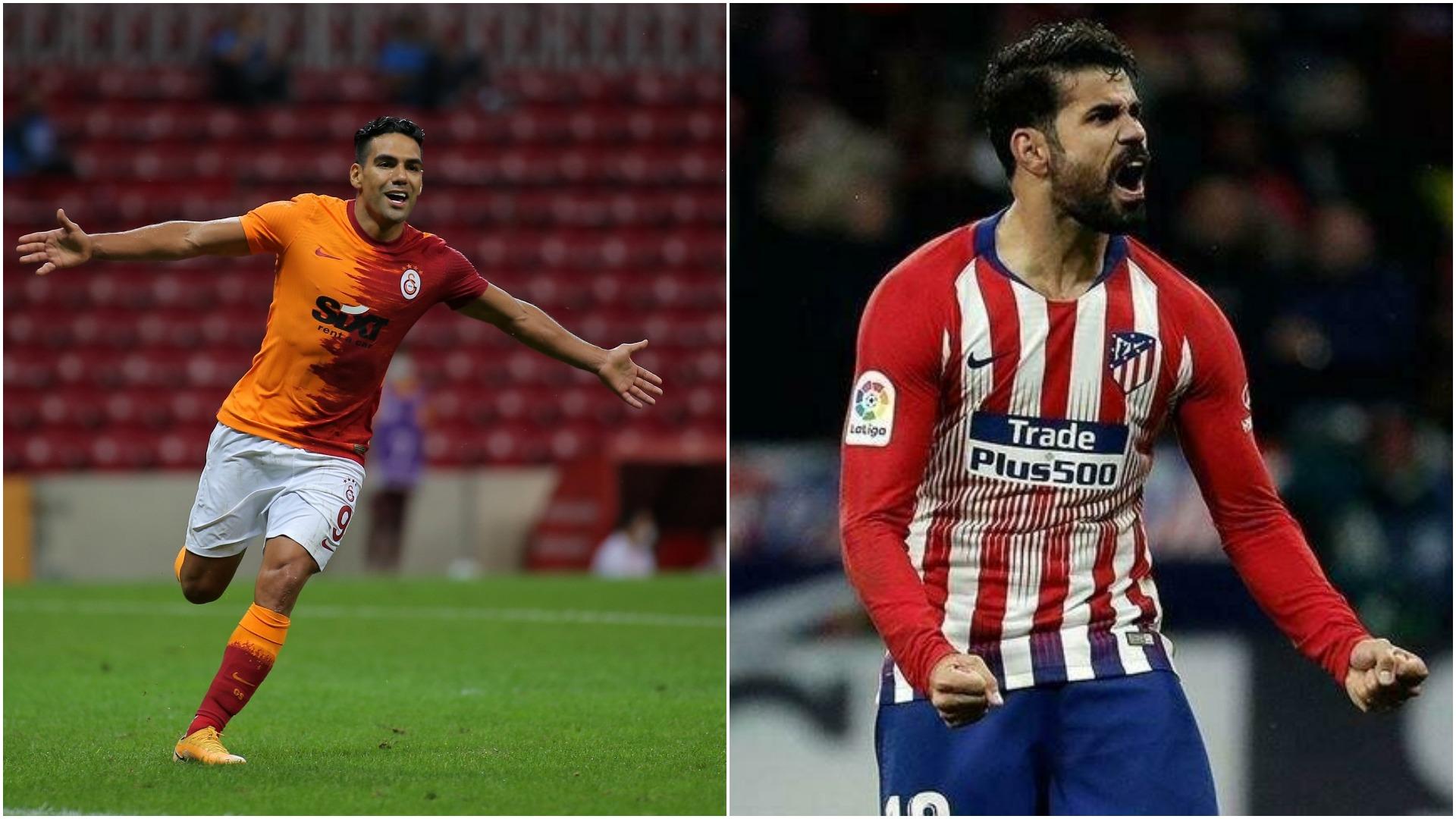 Jorge Mendes'ten Galatasaray'a Falcao için Diego Costa teklifi!