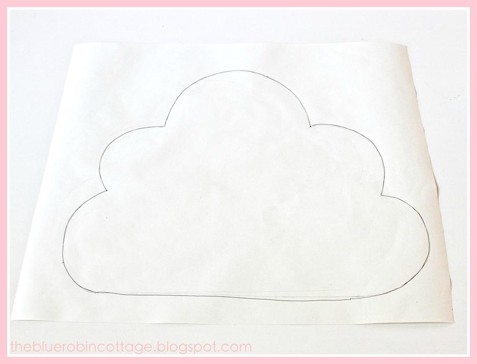 cloud pillow tutorial