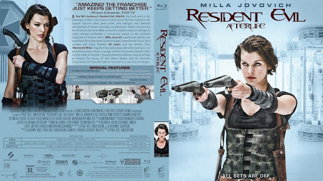 Resident Evil Afterlife Bluray Cover