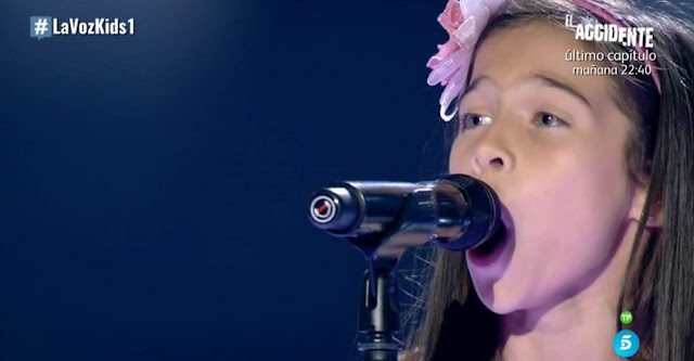 Melani - O Mio Babbino Caro |  Audiciones a ciegas La Voz Kids