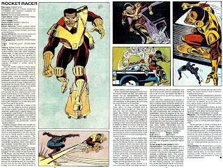Corredor Cohete (ficha marvel comics)