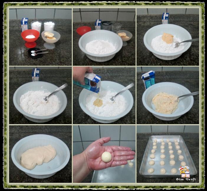 Biscoito de polvilho com leite condensado 2