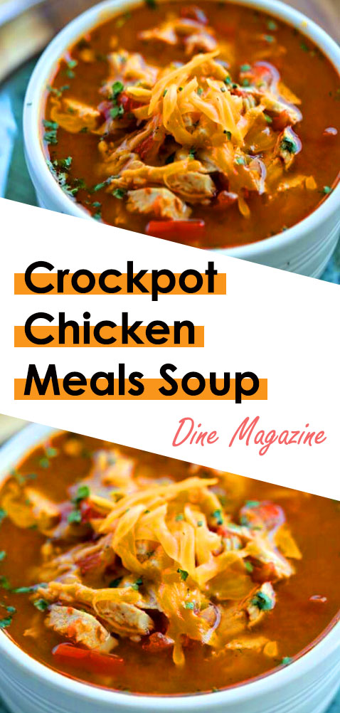 Crockpot Chicken For Crockpot Meals. This Slow Cooker Chicken Recipes are Easy crock pot chicken breast recipes. This Easy Healthy Low Carb Crockpot Chicken Soup are Keto Recipes. Best Crock Pot Meals for a chicken breast recipes! #crockpotchickenmeals #crockpotchicken #crockpotchickenbreast #slowcookerchickenrecipes