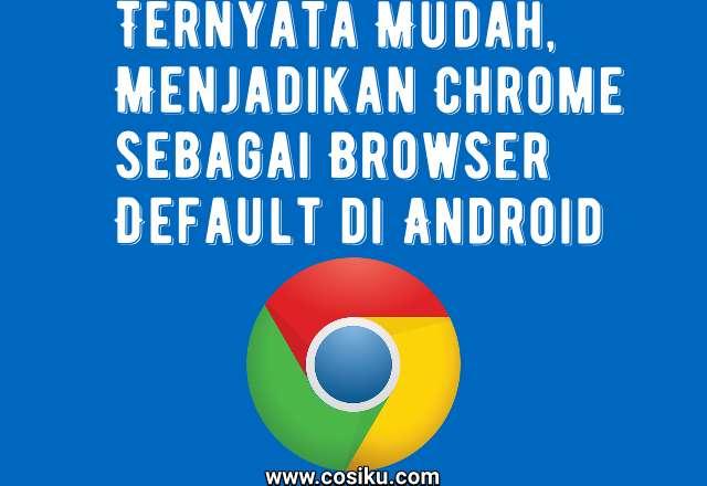 Tips Berhasil Menetapkan Aplikasi Chrome Sebagai Browser Default di HP Android Vivo V9