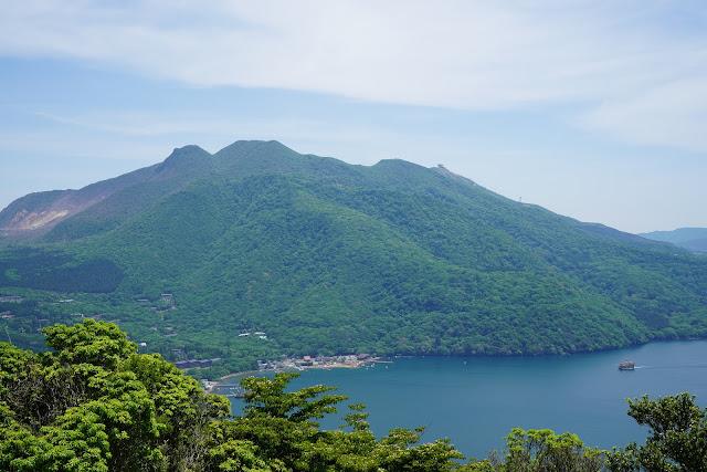 富士見ヶ丘公園近くの展望台