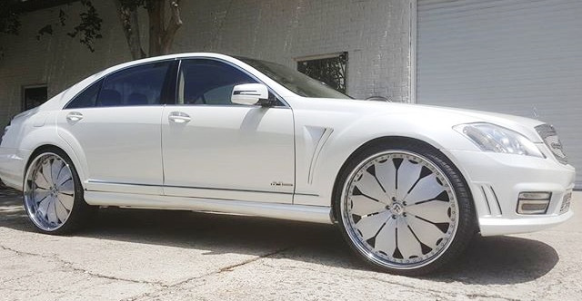 Ace-1: Mercedes S550 Grill Done by GRILL DZIGNS - Call/Text: 813-922-2776