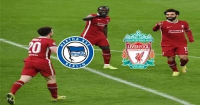 مباراة ليفربول وهيرتا برلين بث مباشر