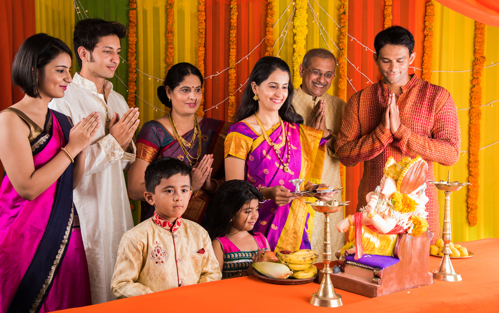 Hindu society joint or extended family
