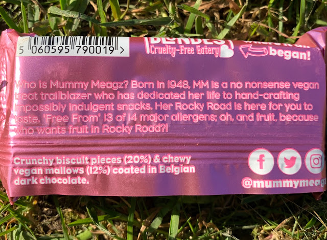 Mummy Meagz Rocky Road vegan bars