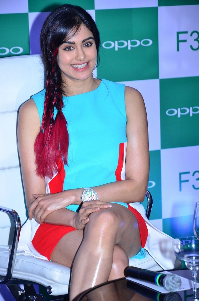 Adah Sharma At OPPO F3 Launch Event Stills
