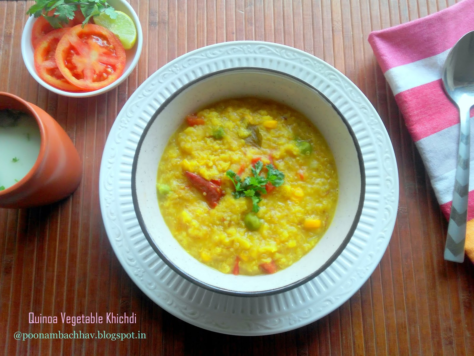 annapurna: quinoa vegetable khichdi recipe