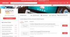 Berjimat Ketika Online Shopping dengan Lazada Voucher dari ShopBack Malaysia