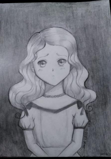 Dibujo manga a lápiz