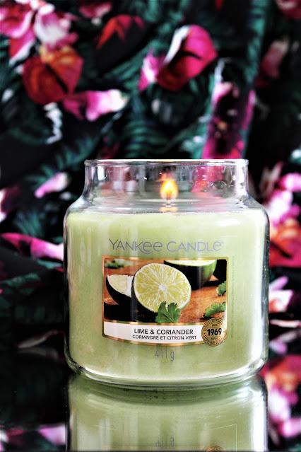 lime and coriander yankee candle avis, yankee candle lime coriander, yankee candle citron vert coriandre, bougie parfumée au citron vert, avis bougies yankee candle, bougie candle, yankee candle france, bougie yankee candle pas cher, bougie yankees, bougie parfumee