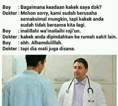 dark jokes - dokter dan pasien