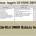 Kisi-Kisi UN UNBK Bahasa Inggris SMP/MTs Tahun Pelajaran 2019/2020