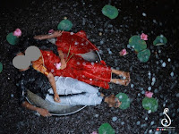 In Tik Tok Viral Bride and Groom Photo Shoot at Water Puddles, the Photos Amazed