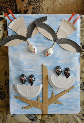Spring crafts with kids. Весенние поделки с детьми. Изучаем приметы весны.