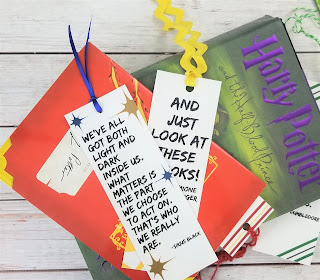 harry potter bookmarks printable