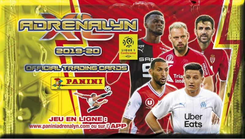 424 AMIENS LIGUE 2018-2019 Adrenalyn Panini Card IRONMAN n ADENON