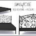 Sims 4 Pose: Rose Bed (Bed Frame)