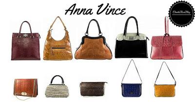 Marca de Bolsa Femininas Anna Vince