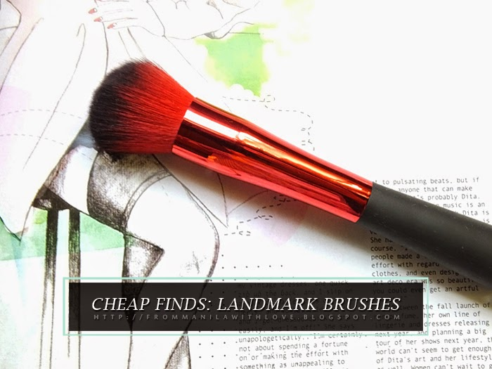 Cheap finds : Landmark Brushes