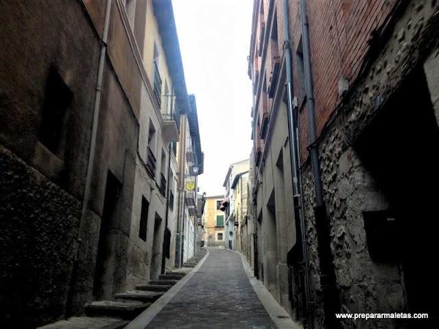 ruta por el casco antiguo de Cuéllar