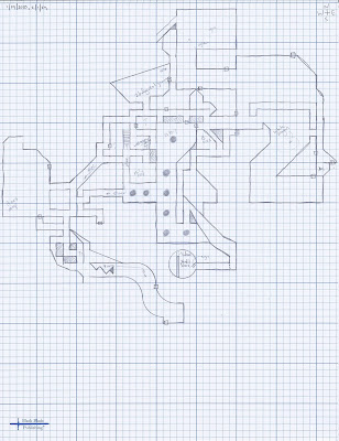 Henry's Daddy-Dungeon - Level 2 Player Map by Allan Grohe