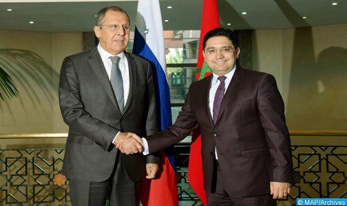 موسكو والرباط لهما رغبة مشتركة لتعميق الحوار السياسي بشأن الملفات الدولية والإقليمية الرئيسية ولتطوير العلاقات الثنائية (الخارجية الروسية)