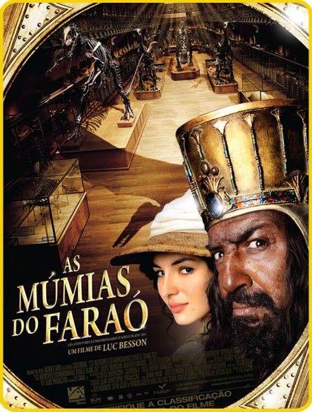 Capa do Filme As Múmias do Faraó