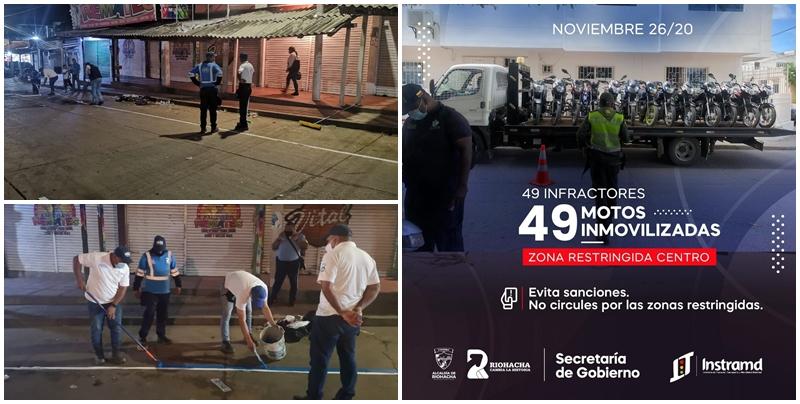 hoyennoticia.com, Recuperan espacio público en el Mercado Viejo de Riohacha