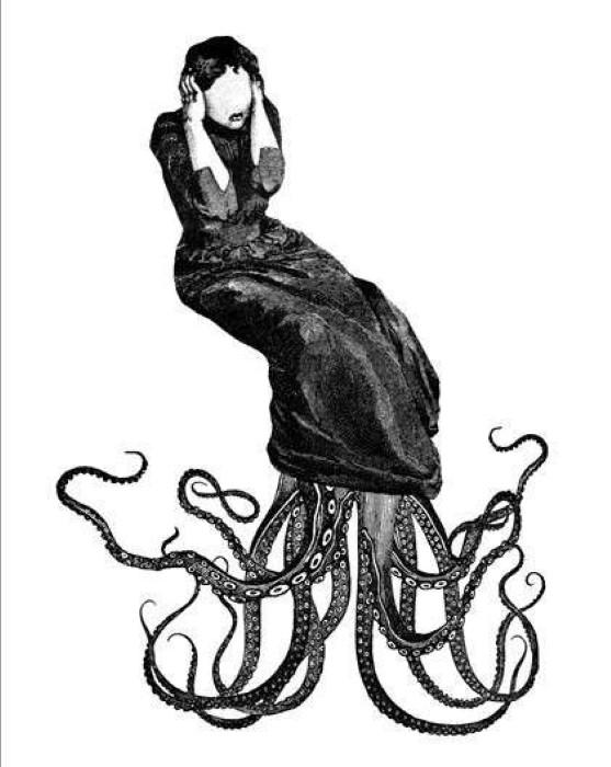 Как нарисовать осьминога  juicepru