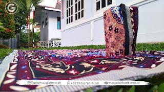 sajadah batik halus | +62 852-2765-5050