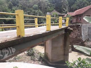 Jembatan Di Sumur Wuni Ambruk, DPRD Kota Cirebon Minta Gunakan Anggaran Bencana