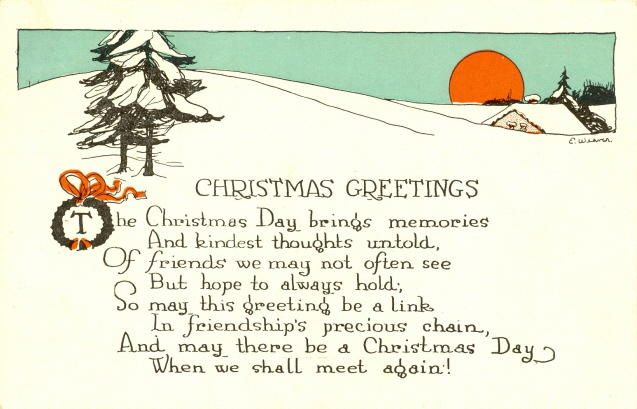 View CHRISTMAS POEMS