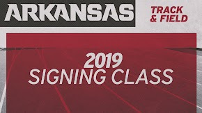 Razorback track and field coach names 23 signees for 2020 season from six countries