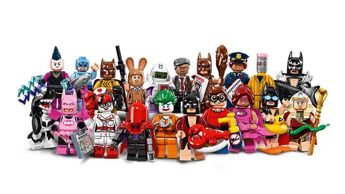 Minifiguras Lego Batman The Movie