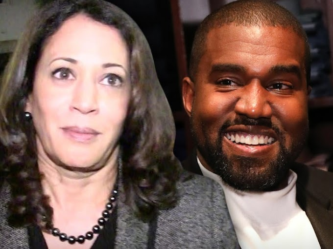 Kanye West Says It's an 'Honor to Run Against' Kamala Harris in 2020 Election