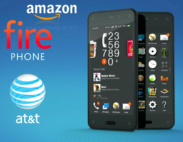 Amazon Launches Its First Fire Phone With 3D Technology