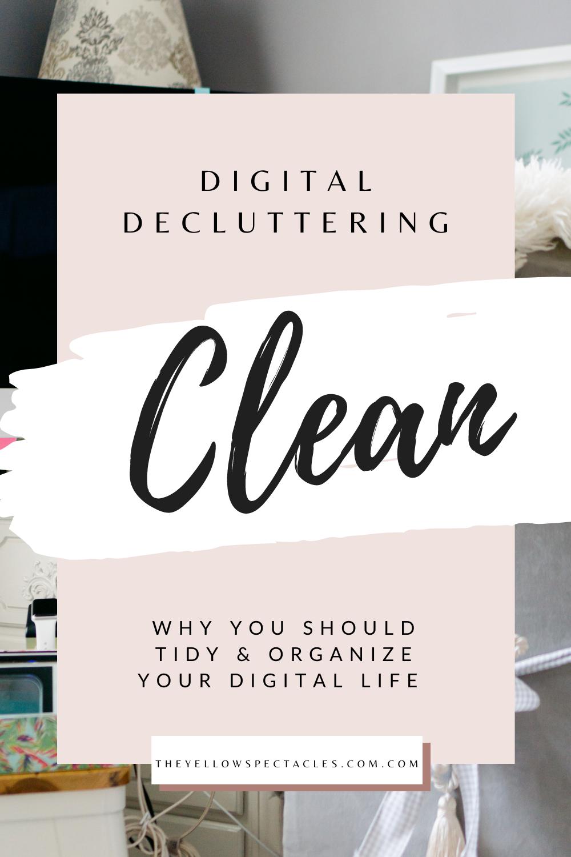 How I organize my digital life