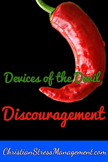 Devices of the Devil - Discouragement and how to deal with it