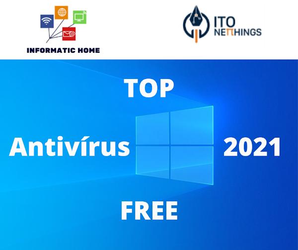 Top Antivírus gratuitos 2021