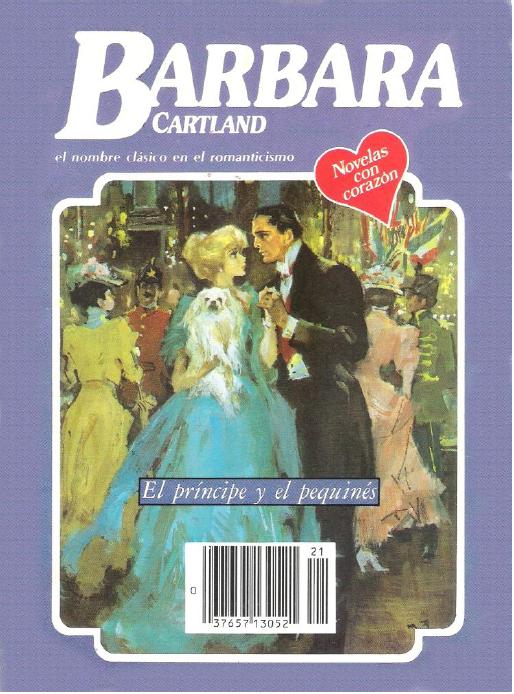 El Principe y el Pequines – Barbara Cartland