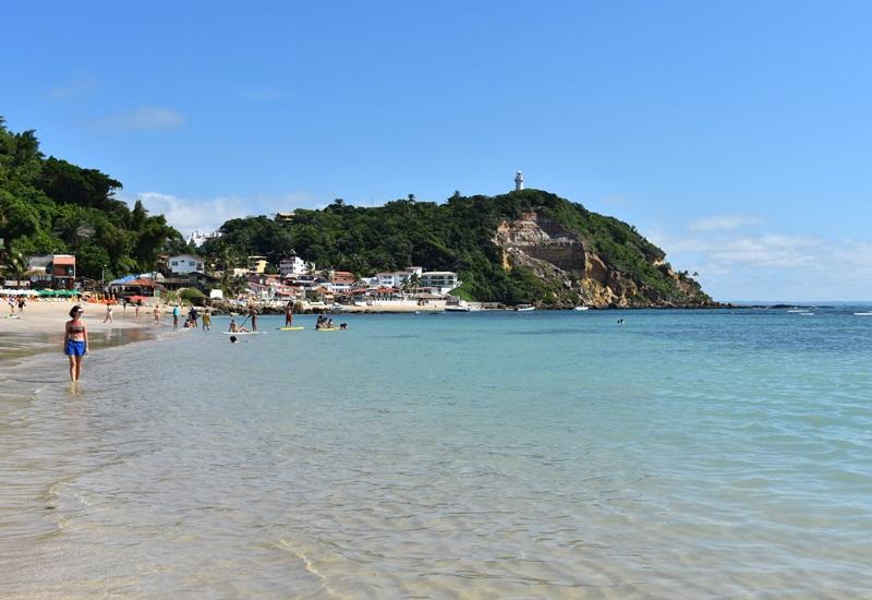 Primeira Praia; Segunda Praia; Terceira Praias, Quarta Praia; Quinta Praia