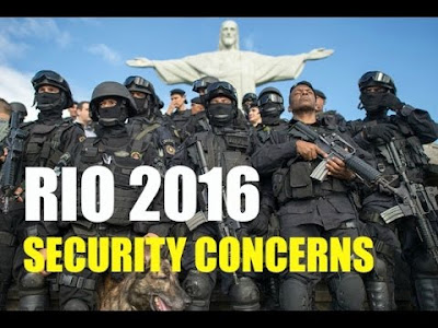 Security Concern at Summer Olympics 2016