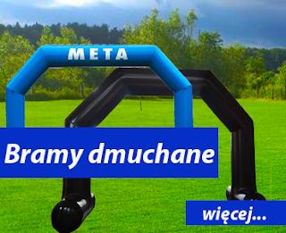Bramy startowe Dmuchańce Wrocław Bramy reklamowe